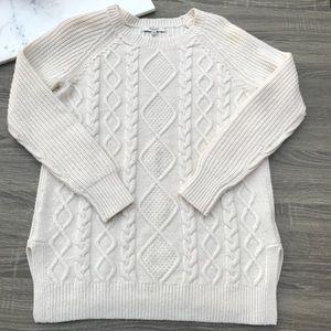 Madewell Merino Wool Cabel Knit Sweater #279